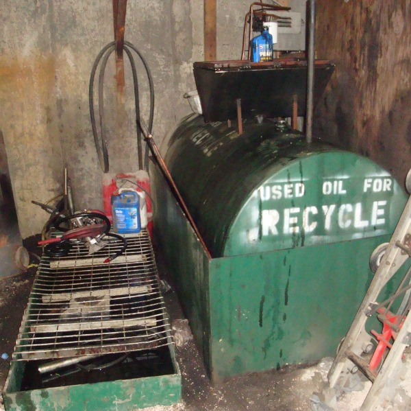 used oil for recycle compliance