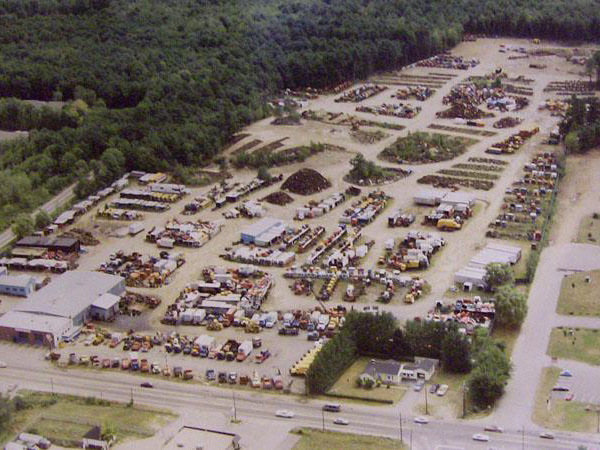 former salvage yard remediation